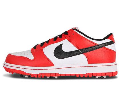 Nike Dunk NG Golf White Black Redの写真