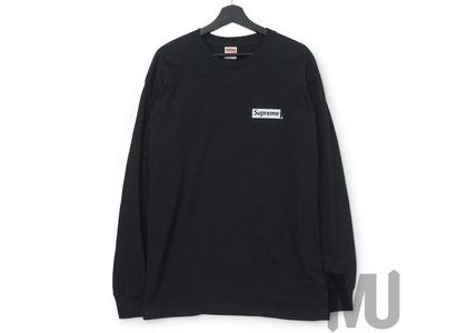 Supreme Sacred Unique L-S Tee Blackの写真