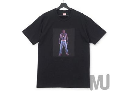 Supreme Tupac Hologram Tee Blackの写真