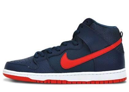 Nike Dunk SB High Squadron Blue University Redの写真