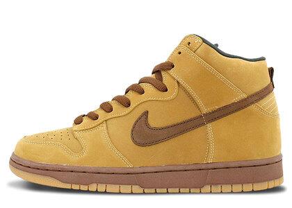 Nike Dunk SB High Wheatの写真