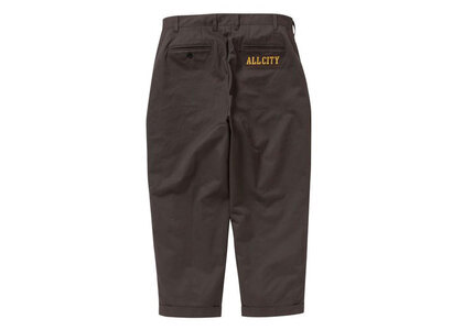 The Black Eye Patch All City Two-Tuck Chino Brown (SS21)の写真
