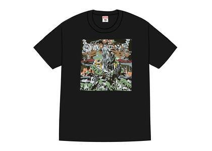 Supreme Dragon Tee Blackの写真