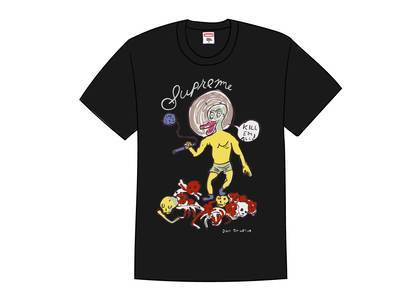 Supreme Daniel Johnston Kill Em All Tee Blackの写真