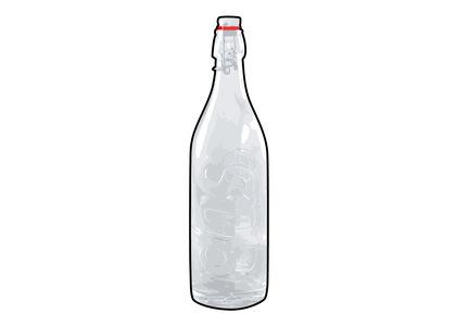 Supreme Swing Top 1.0L Bottle (Set of 2) Clear (FW21)の写真