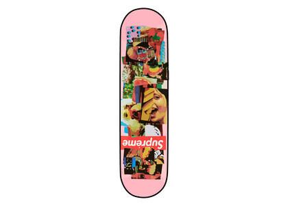 Supreme Stack Skateboard Pink (FW21)の写真