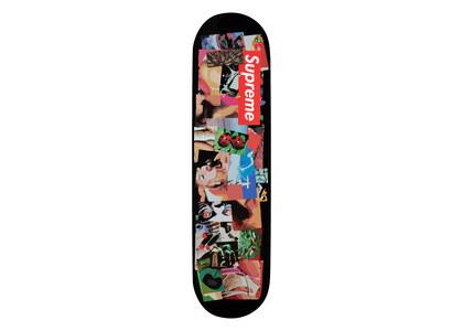 Supreme Stack Skateboard Black (FW21)の写真