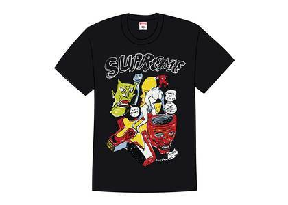 Supreme Daniel Johnston Tee Blackの写真