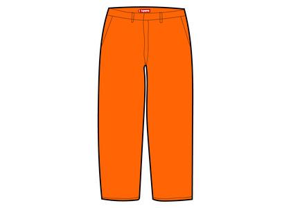 Supreme Work Pant Orange (FW21)の写真