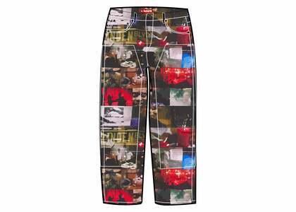 Supreme Nas and DMX Collage Double Knee Denim Painter Pant Multi (FW21)の写真