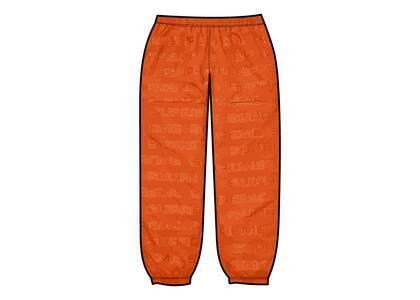 Supreme Logo Ripstop Track Pant Orange (FW21)の写真