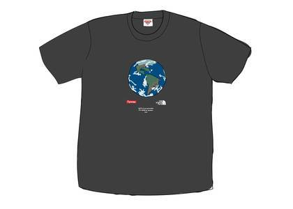 Supreme The North Face One World Tee Blackの写真