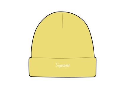 Supreme Loose Gauge Beanie Yellow (FW21)の写真