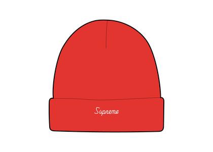 Supreme Loose Gauge Beanie Red (FW21)の写真
