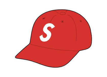Supreme Ventile S Logo 6-Panel Red (FW21)の写真
