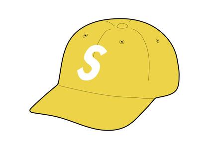 Supreme Ventile S Logo 6-Panel Yellow (FW21)の写真