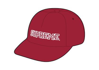 Supreme Shattered Logo 5-Panel Red (FW21)の写真