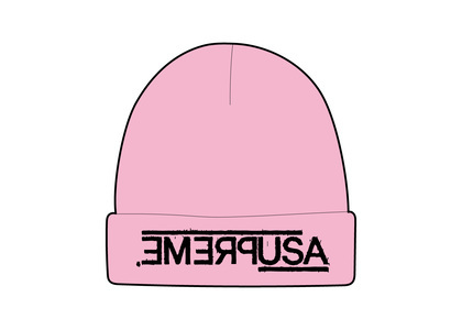 Supreme USA Beanie Pink (FW21)の写真