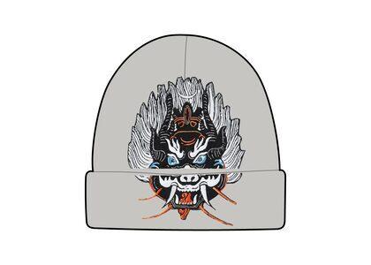 Supreme Demon Beanie Gray (FW21)の写真