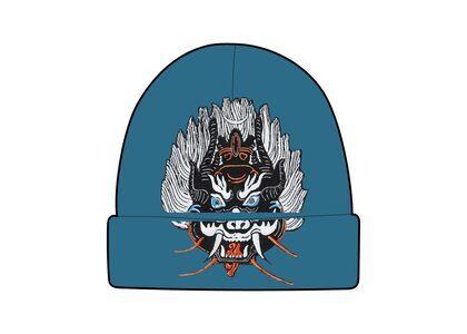 Supreme Demon Beanie Light Blue (FW21)の写真