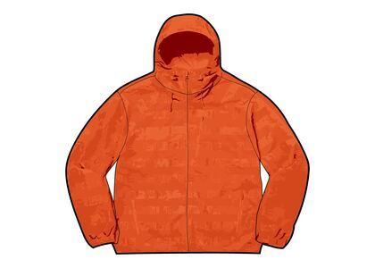 Supreme Logo Ripstop Hooded Track Jacket Orange (FW21)の写真