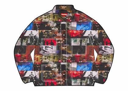 Supreme Nas and DMX Collage Denim Chore Coat Multi (FW21)の写真
