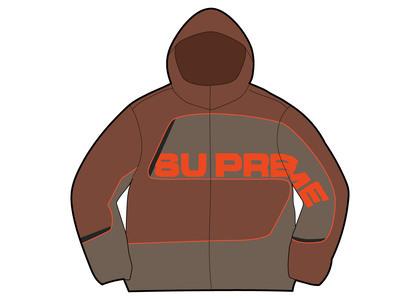 Supreme S Paneled Track Jacket Brown (FW21)の写真