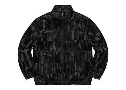 Supreme Velour Track Jacket Black (FW21)の写真