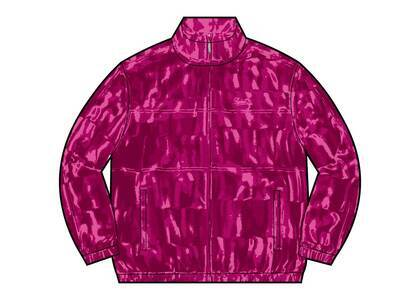 Supreme Velour Track Jacket Pink (FW21)の写真
