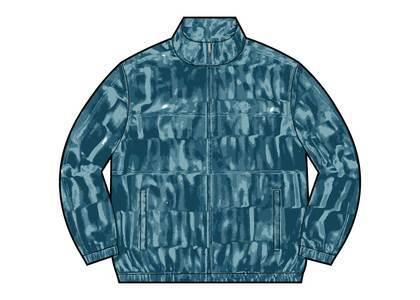 Supreme Velour Track Jacket Light Blue (FW21)の写真