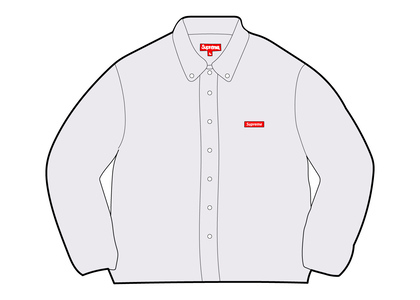 Supreme Small Box Twill Shirt White (FW21)の写真