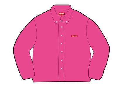 Supreme Small Box Twill Shirt Pink (FW21)の写真