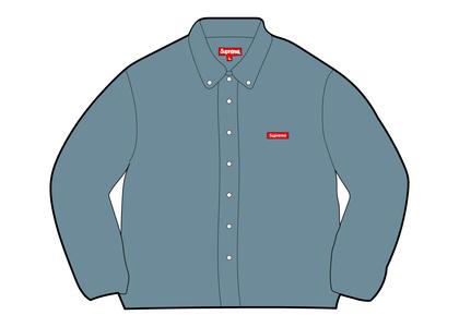 Supreme Small Box Twill Shirt Denim (FW21)の写真