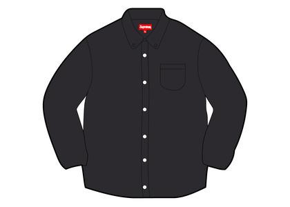 Supreme Appliqué Denim Shirt Black (FW21)の写真