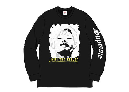 Supreme Ichi The Killer L-S Tee Blackの写真