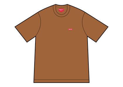 Supreme Small Box Tee Brown (FW21)の写真