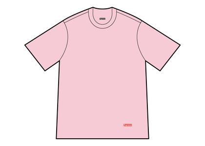 Supreme Hanes Tagless Tees (2 Pack) Pink (FW21)の写真