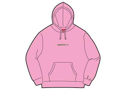 Supreme Number One Hooded Sweatshirt Pink (FW21)の写真
