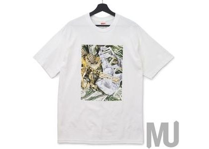 Supreme Bling Tee Whiteの写真