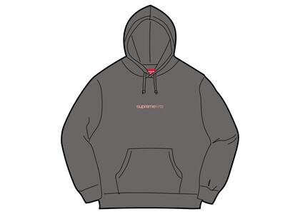 Supreme Number One Hooded Sweatshirt Gray (FW21)の写真