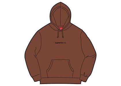 Supreme Number One Hooded Sweatshirt Brown (FW21)の写真