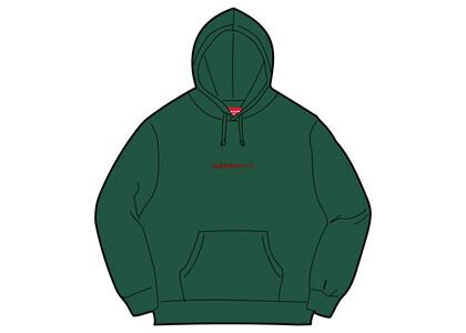 Supreme Number One Hooded Sweatshirt Green (FW21)の写真