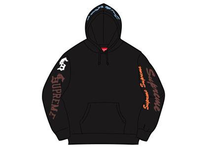 Supreme Multi Logo Hooded Sweatshirt Black (FW21)の写真