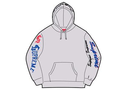 Supreme Multi Logo Hooded Sweatshirt Gray (FW21)の写真