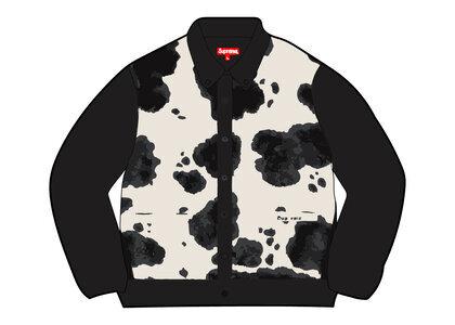 Supreme Cow Print Cardigan Black (FW21)の写真