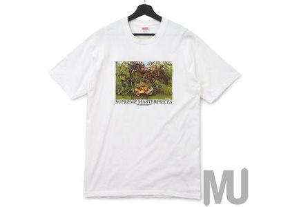Supreme Masterpieces Tee Whiteの写真