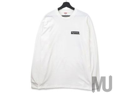 Supreme Sacred Unique L-S Tee Whiteの写真