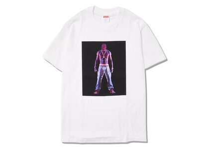 Supreme Tupac Hologram Tee Whiteの写真