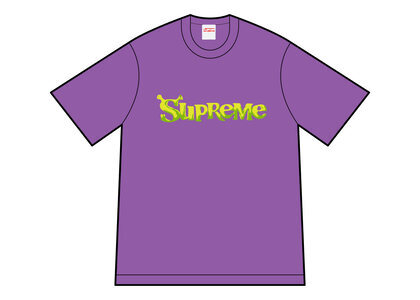 Supreme Shrek Tee Purple (FW21)の写真