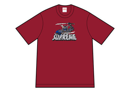 Supreme Samurai Tee Red (FW21)の写真